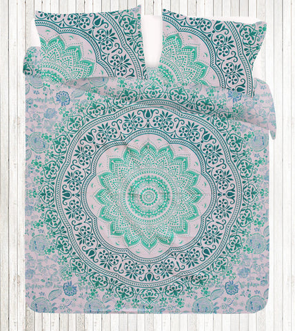 Padama Queen Size Mandala Bedding