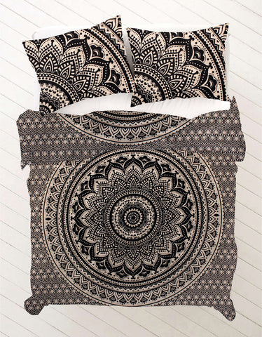 Ujala Queen Size Mandala Bedding