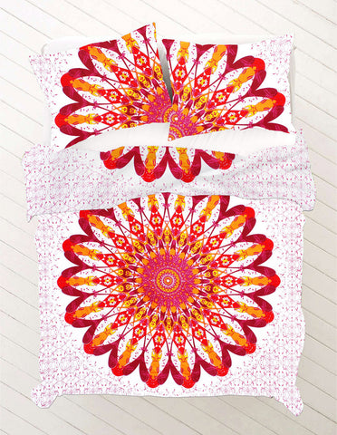 Chameli Queen Size Mandala Bedding