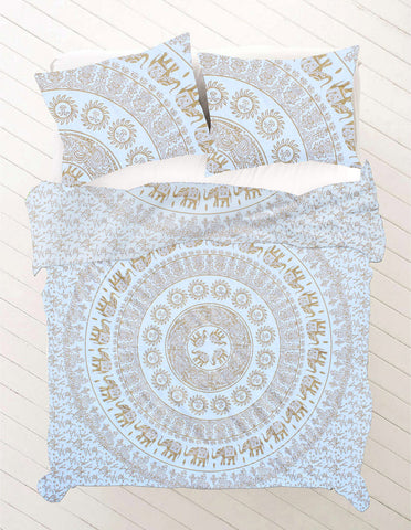 Darshni Queen Size Mandala Bedding