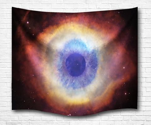 Eye Of The Universe Wall Tapestry