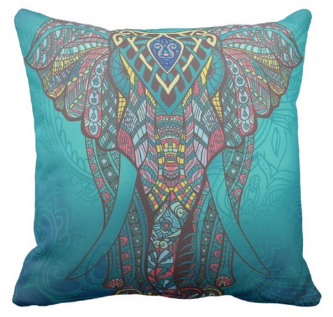 Gayatri Elephant Pillow Cover SALE!