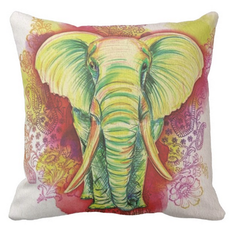 Harshita Elephant Pillow Cover SALE!