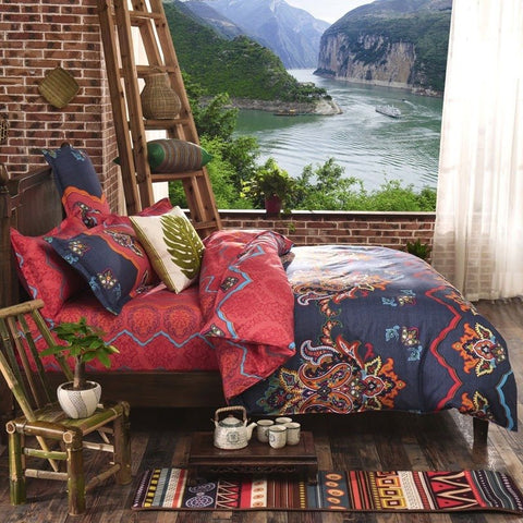 Harper Bohemian Bedding Set