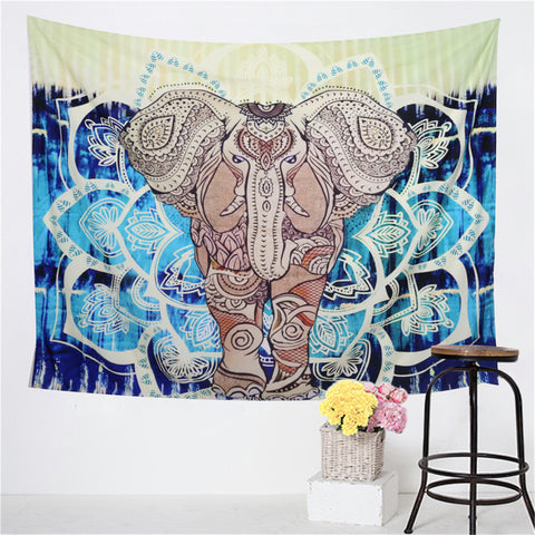 Lucky Mandala Elephant Cover