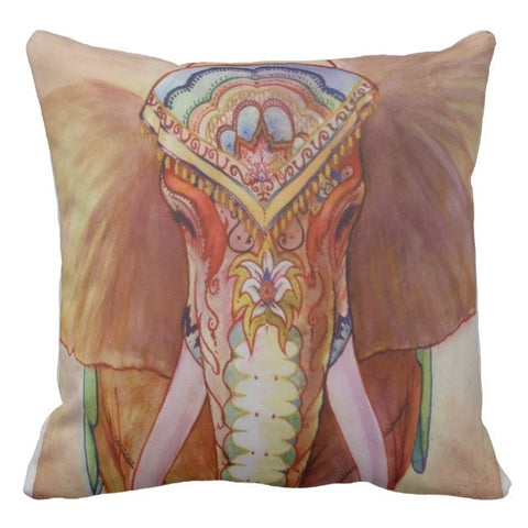 Raj Elephant Pillow Cover SALE!