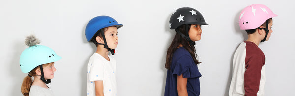 Sawako kids' helmets are coming!