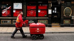 Royal Mail delivery person Hero during coronavirus crisis