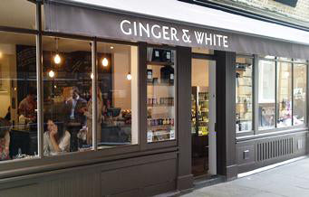 ginger and white london coffee