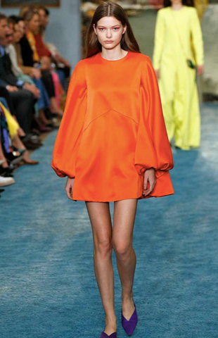 Orange trend from spring fashion
