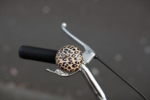 Sawako: The stylish Helmets: Leopard Bicycle Bell