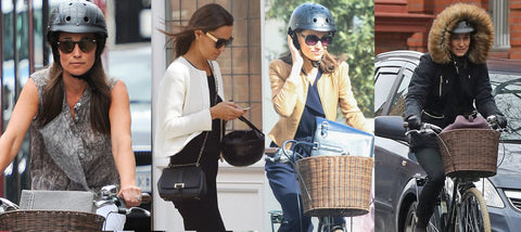 pippa middleton past features with Sawako helmet