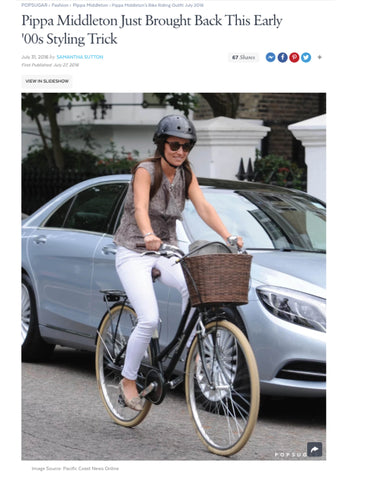 Pippa Middleton and Sawako helmet Popsugar press coverage