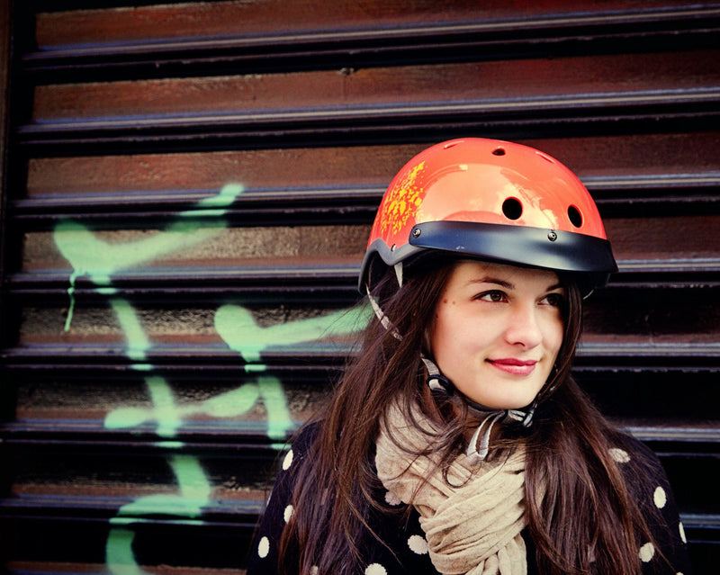Sawako eyecandy female ladies bike helmet 30% off model