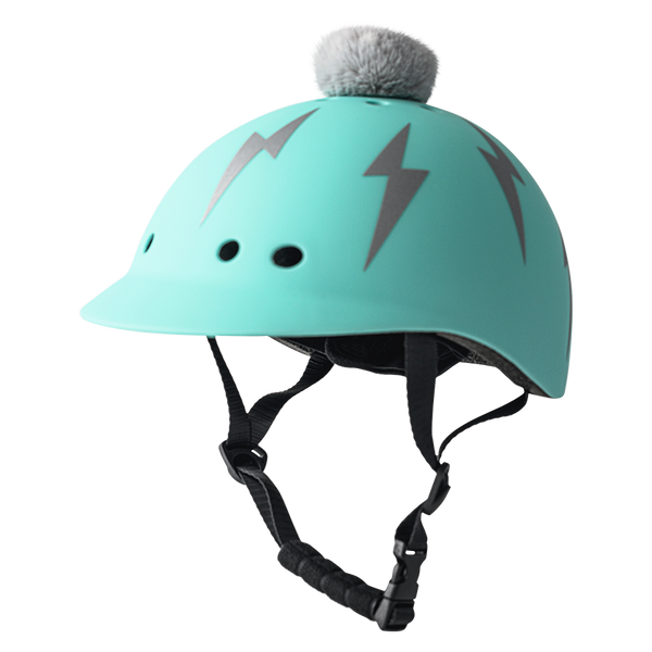Kids Lightning Bolt: Turquoise