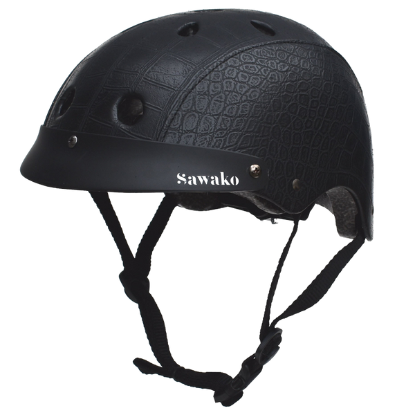 Crocodile Black - Sawako: The stylish helmets