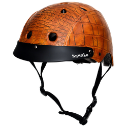 Crocodile Brown - Sawako: The stylish helmets