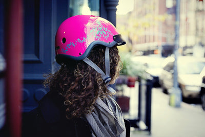Sawako eyecandy bike helmet 20% off model view