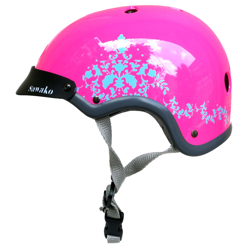Eye Candy Pink Flamingo - Sawako: The stylish helmets