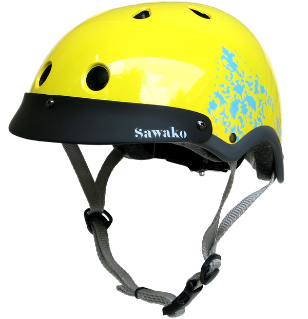 Eye Candy Yellow Tang - Sawako: The stylish helmets