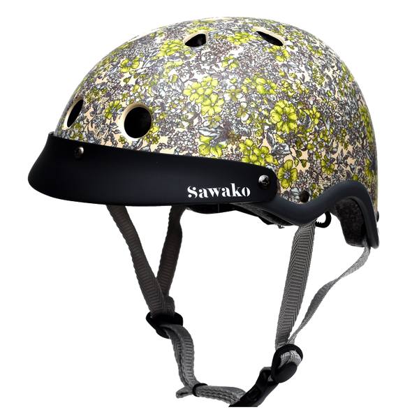 Floral Cream - Sawako: The stylish helmets