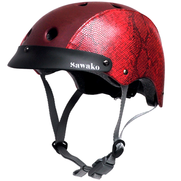 Python Red - Sawako: The stylish helmets