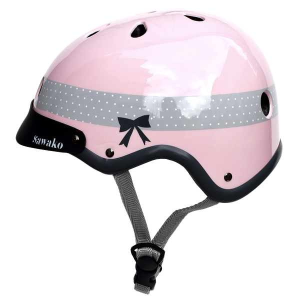 Ribbon Pink (20% off) - Sawako: The stylish helmets