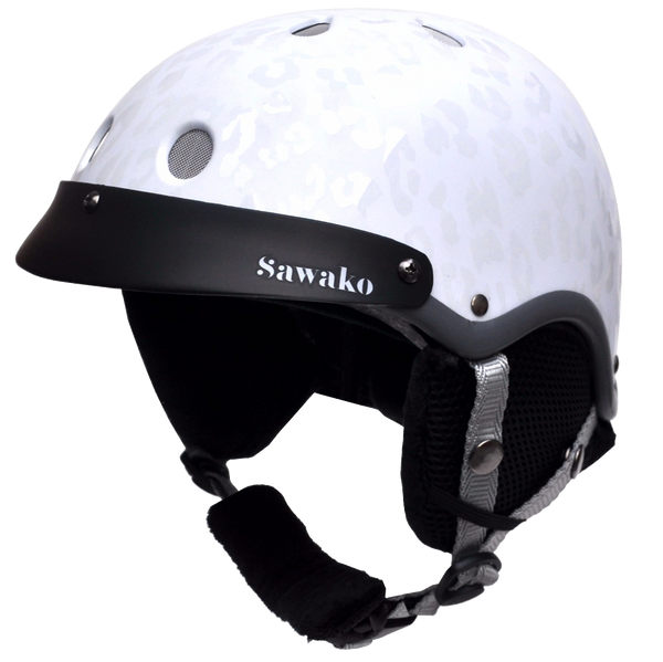 Madison White Ski - Sawako: The stylish helmets