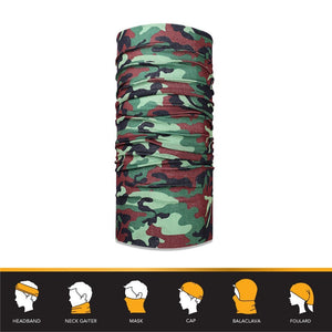 12-in-1 Headwear - Camouflage Prints