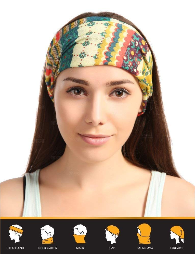 12-in-1 Headwear - Vivid Prints
