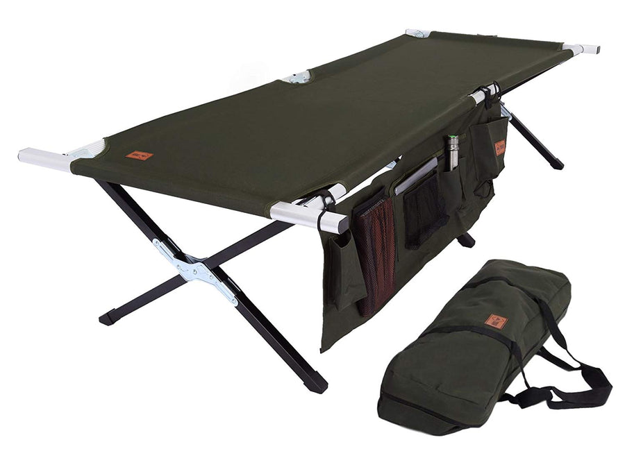 Outdoor Military Style Camp Cot