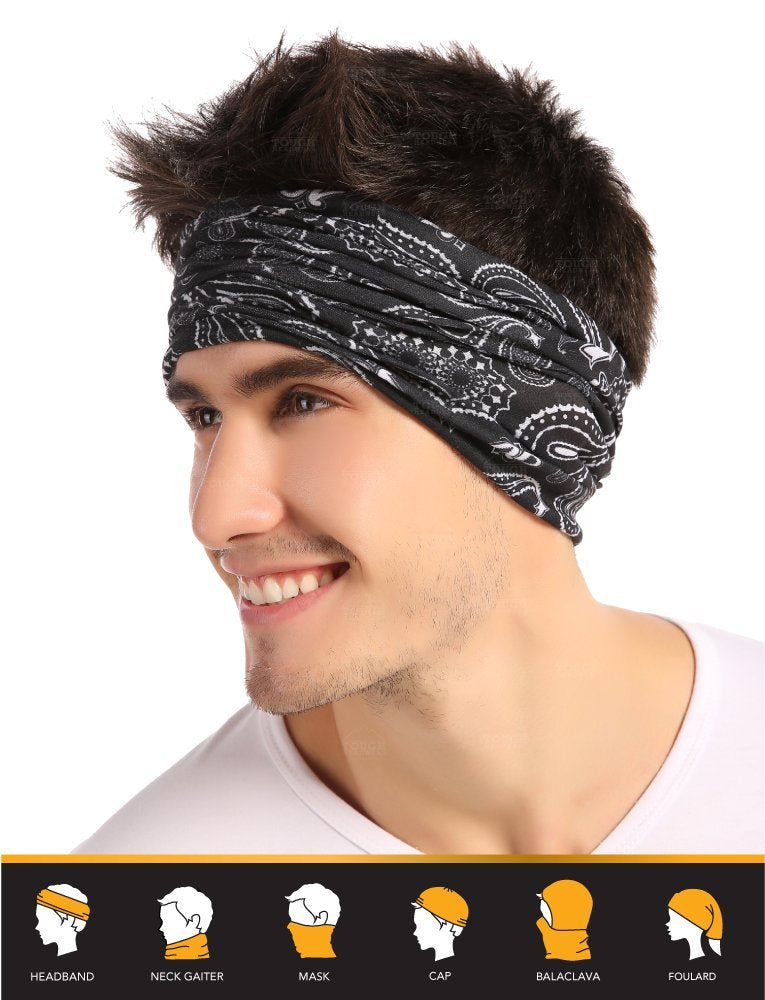 12-in-1 Headwear - Paisley Prints