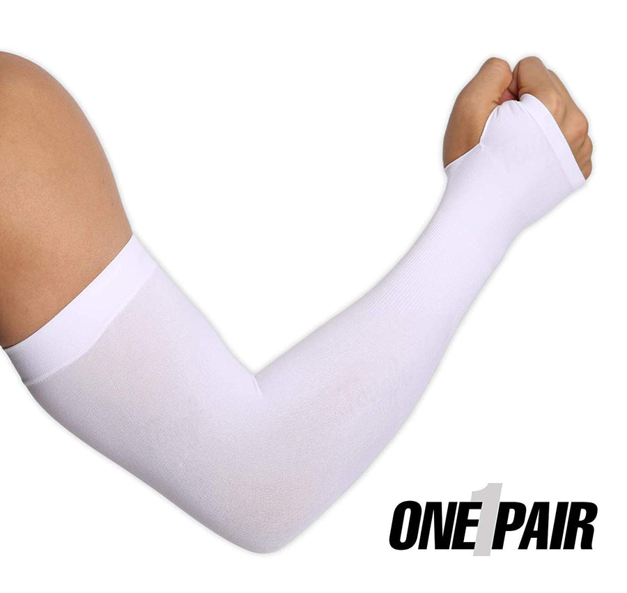 UV Protection Cooling Arm Sleeves with Thumbhole