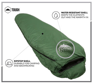Warm Weather XL Mummy Sleeping Bag
