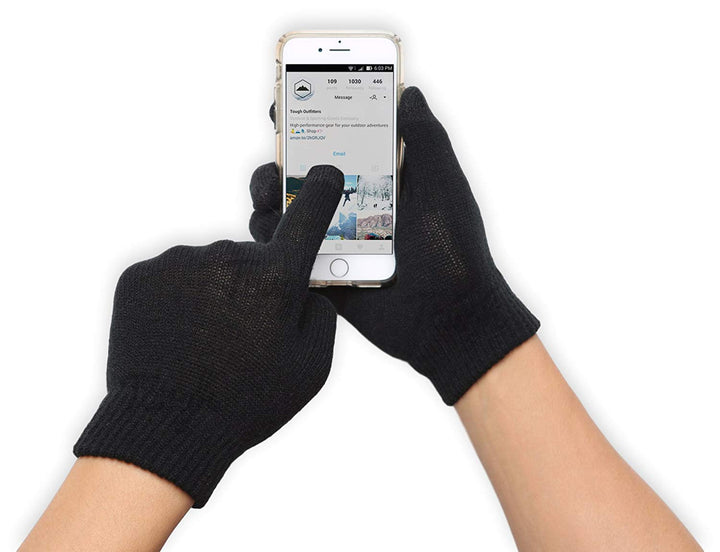 Lightweight Thermal Knit Gloves