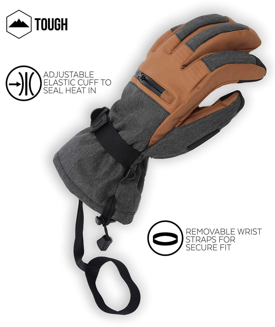 The Slugger Ski Gloves