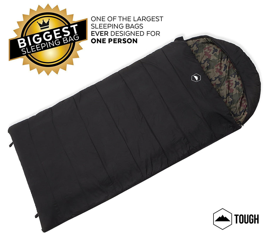 The Colossal Double Sleeping Bag - XXXL Hooded