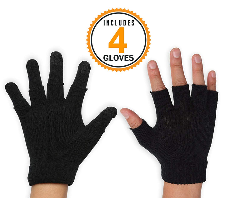 3-in-1 Touchscreen Gloves