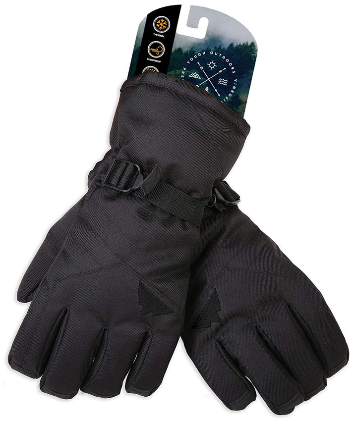 Premium Black Ski Gloves
