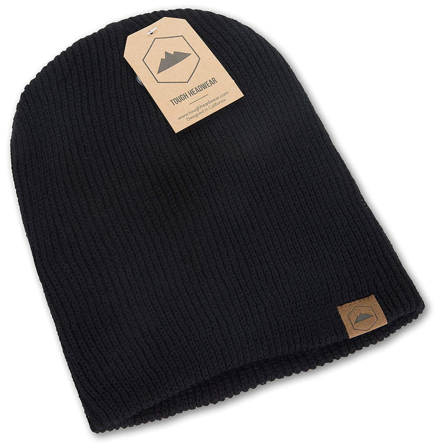 Daily Knit Ribbed Beanie