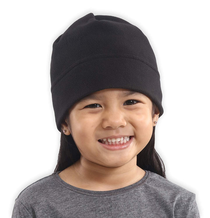 Kids Fleece Winter Beanie