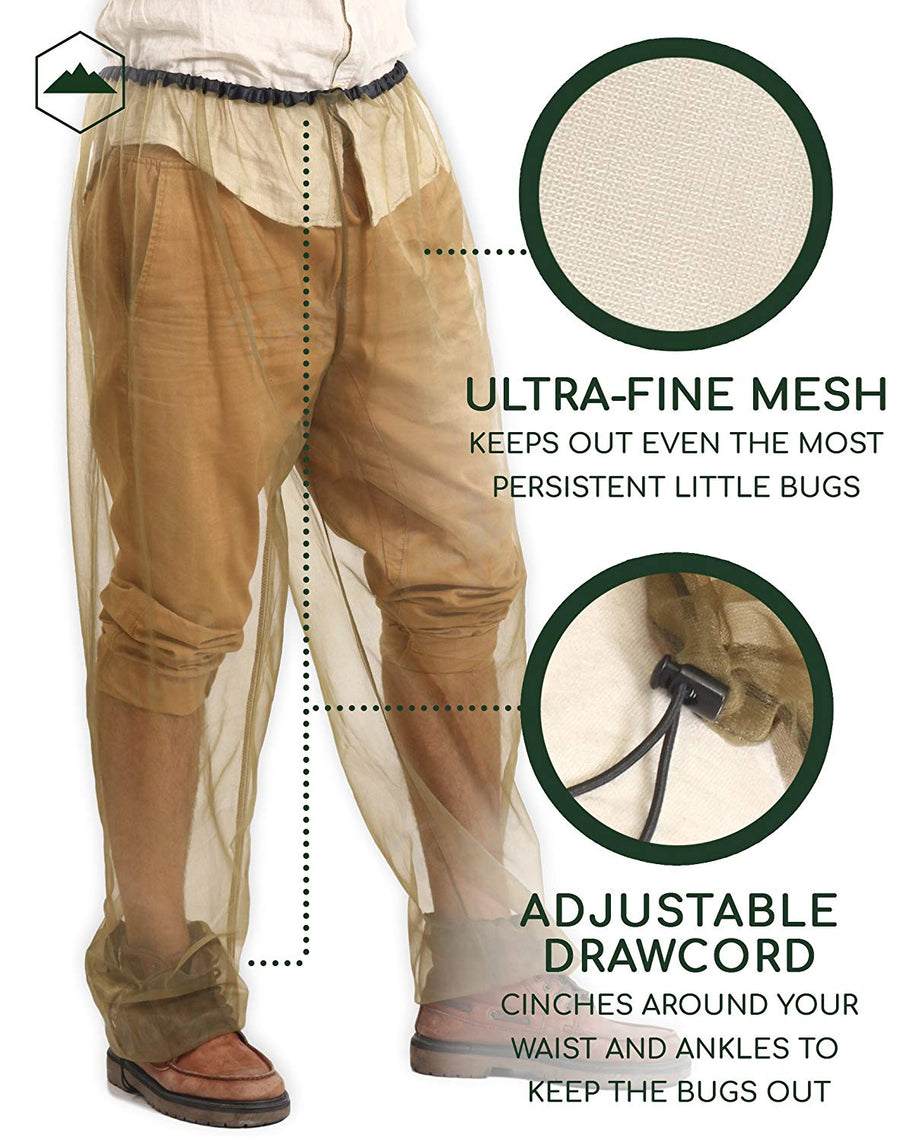 Anti Mosquito Net Repellent Pants