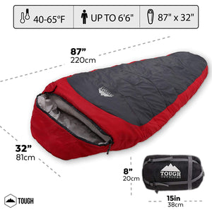 All Season XL Mummy Sleeping Bag