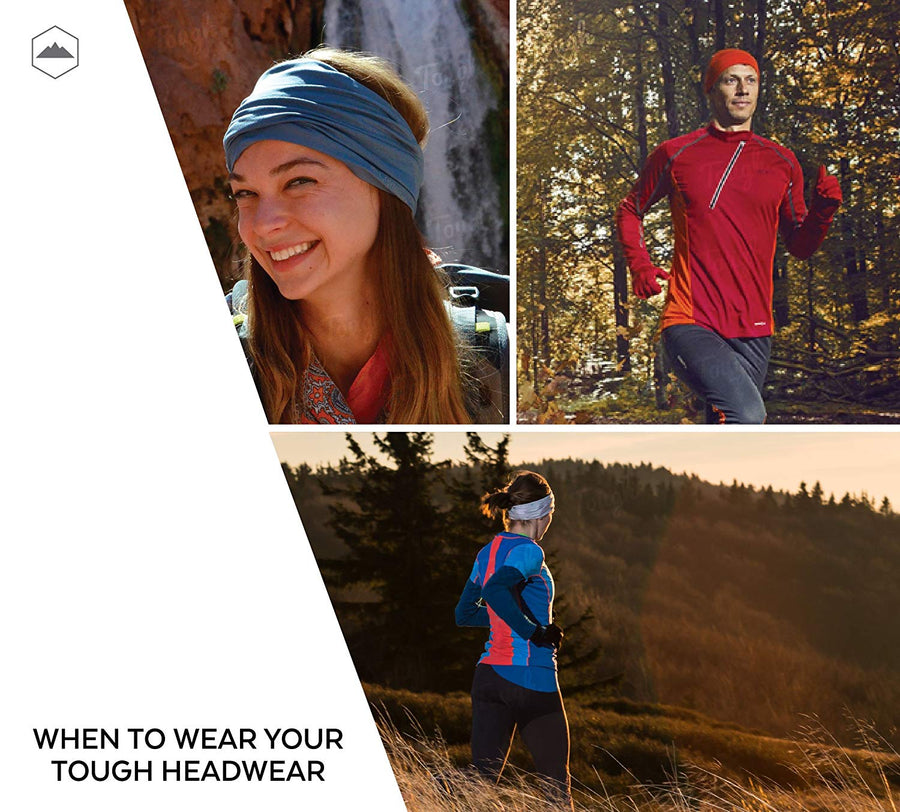 12-in-1 Headwear - Solid Colors