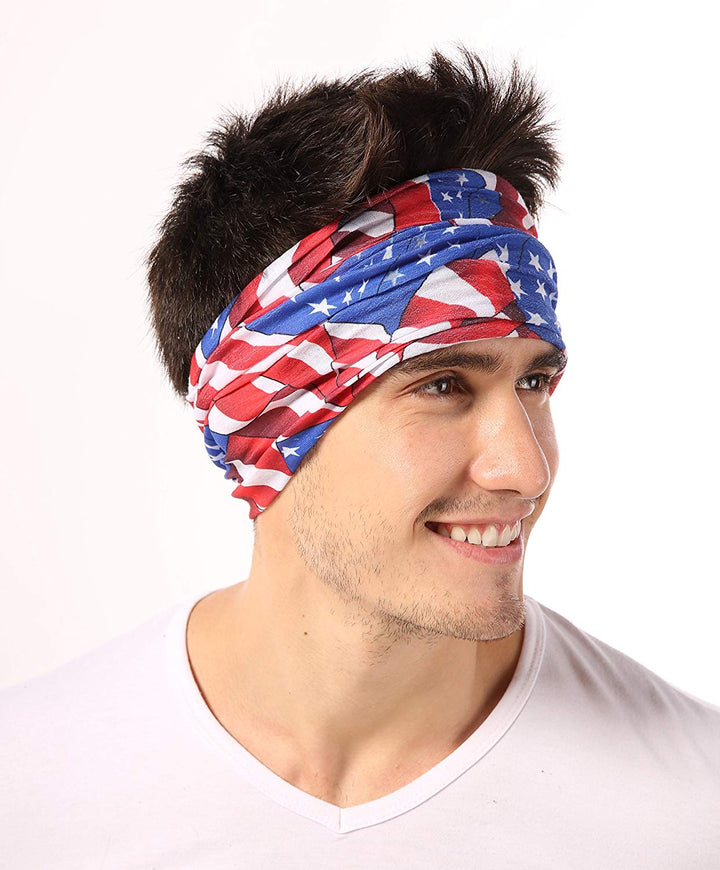 12-in-1 Headwear - American Flag