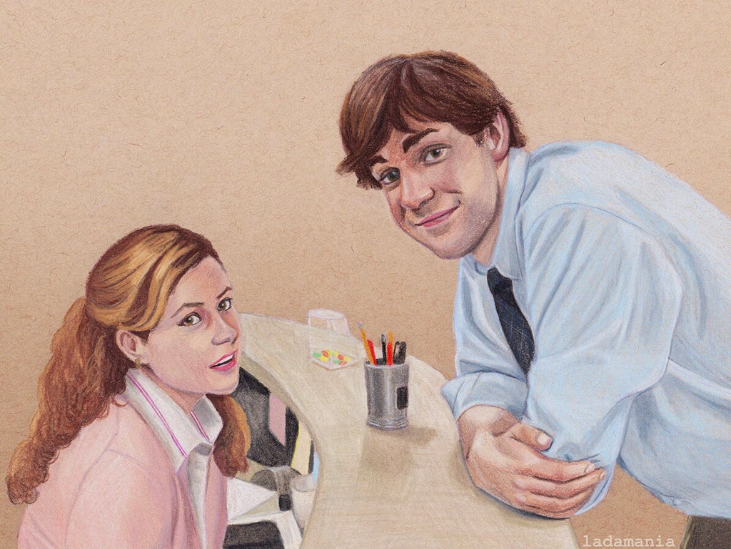 PB&J: A Love Story in Colored Pencil 💕