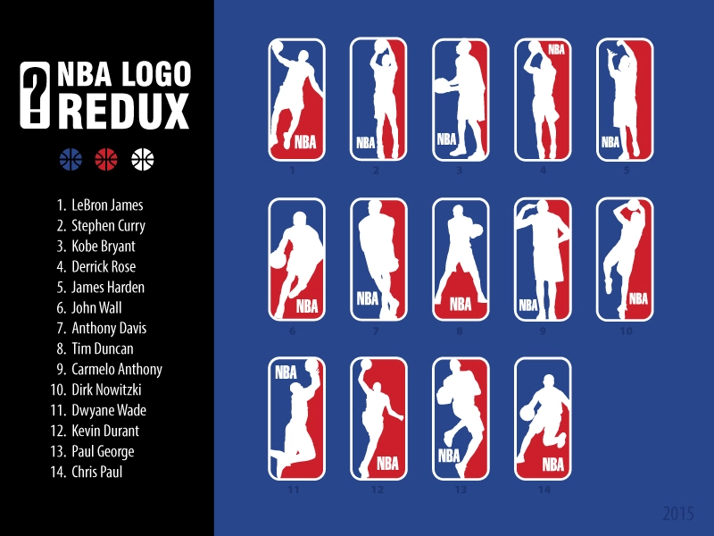 NBA Logo Redux: Replacing Jerry