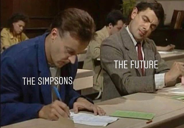 The Simpsons vs The Future