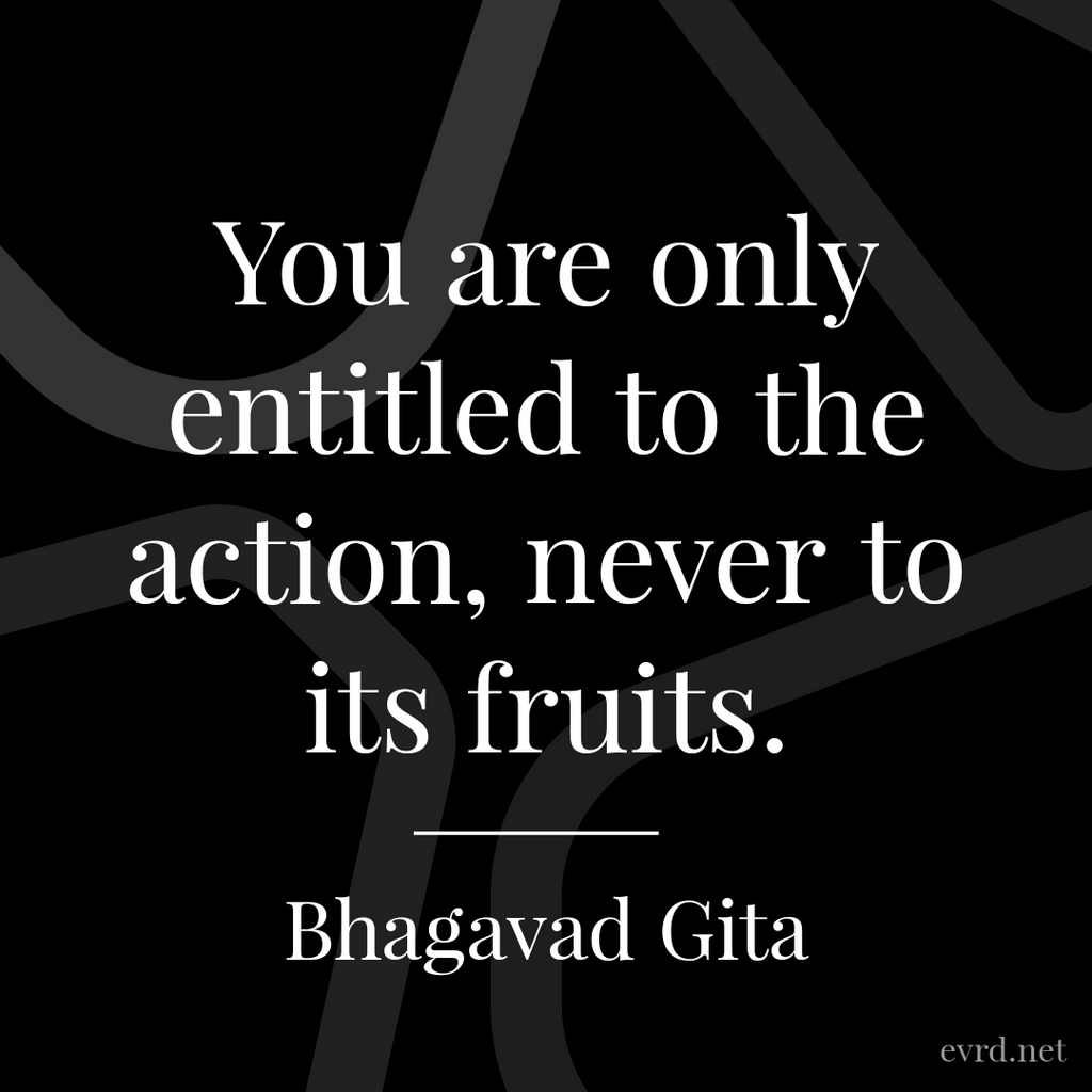 You are only entitled to the action...