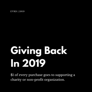 Giving Back in 2019